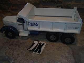 Smith Miller White Blue Diamond Dump Truck Hydraulic