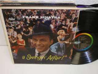 SINATRA A Swingin Affair LP Capitol W803 MONO Vinyl Album Record