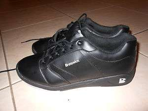 Brunswick Roller Mens Bowling Shoes Size 11 1/2 Black