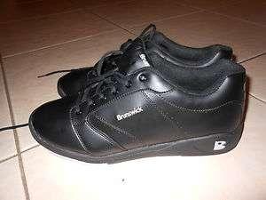 Brunswick Roller Mens Bowling Shoes Size 11 1/2 Black