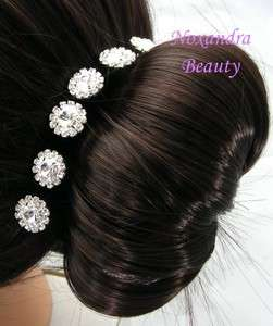 6PCS Bridal Wedding Veil Hair Pins FREESHIP F1530