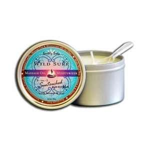 Body 3 in 1 Suntouched Body Massage Candle Wild Surf 6.8oz: Beauty