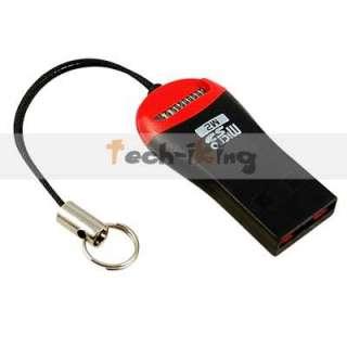 USB 2.0 Mini Micro SD T Flash TF M2 Memory Card Reader