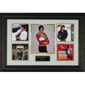 Michael Jackson   Engraved Signature Series Display
