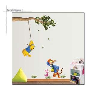 Disney Winnie the Pooh & Tigger  I Wall STICKER Murals