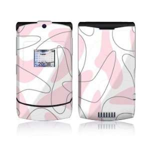 Boomerang Pink Design Protective Skin Decal Sticker for Motorola RAZR