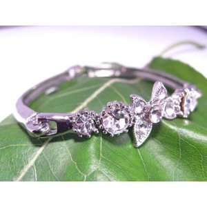 Fashion Plating Platinum and Diamond Bracelet br10022