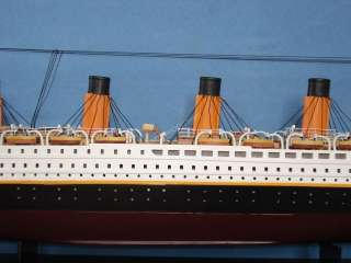 RMS Titanic 40 Scale Model Replica Ship   NOT A KIT