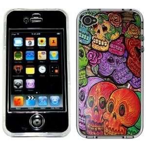 Day of the Dead Dia de los Muertos Handmade iPhone 4 4S