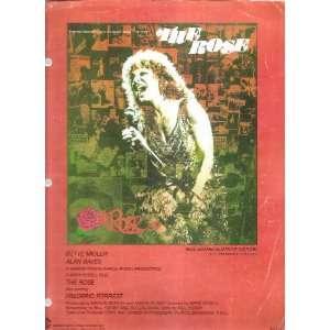 Sheet Music The Rose Bette Midler 206