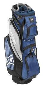 DATREK AVENGER CART BAG. BRAND NEW ROYAL BLUE GOLF BAG.