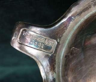 Wm Rogers & Sons 2601 Silver Plated COFFEE POT, CREAM & SUGAR