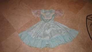 Vintage Western Prairie Floral Rockabilly Swing dress