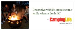 Wildlife Fire Pit and Grill Camping Grills   at L.L