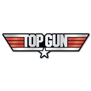 Top Gun car bumper sticker decal 6 x 2 Automotive
