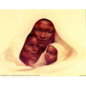 Nubian Family artist Suzy Hart 22x28