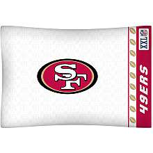 Sports Coverage San Francisco 49ers Single Pillow Case   NFLShop