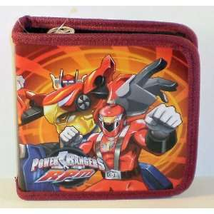 Power Rangers RPM Red CD/DVD Media Case