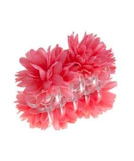 Coral (Orange) Pink Floral Bulldog Clip  240065483  New Look