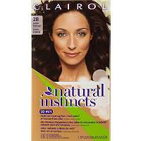 Hair Color Clairol Clairol Natural Instincts 28 Nutmeg (Dark Brown