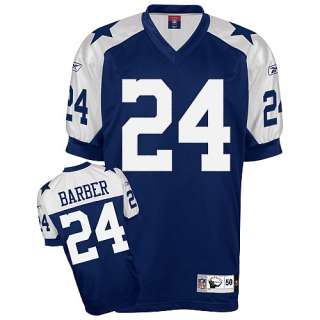 Cowboys Reebok Dallas Cowboys Marion Barber Authentic Throwback Jersey