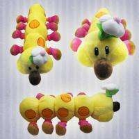 Super Mario Bros 16 Lenght Wiggler Plush Toy