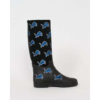 Womens Footwear Cuce Shoes Detroit Lions Womens Enthusiast Rain Boot