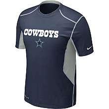 Nike Dallas Cowboys Sideline Hypercool Speed Dri FIT T Shirt