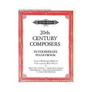 20th Century Composers Intermediate Piano Book Musical