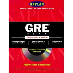 Kaplan Gre Exam 2000 2001 With Cd Rom (Gre (Kaplan)(Book