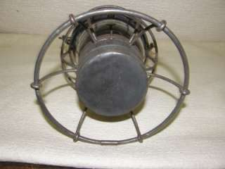 RAILROAD RAILWAY TRAIN RR OIL LANTERN LAMP ARMSPEAR CO. NEW YORK