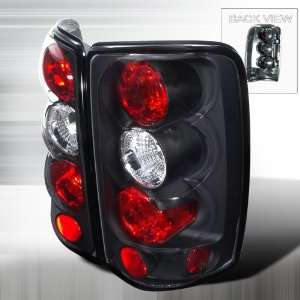 00 06 GMC Denali Yukon Altezza Tail Lights   Black