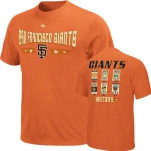 San Francisco Giants Youth Majestic Baseball Tickets T