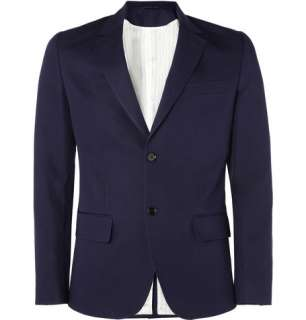 Clothing  Blazers  Single breasted  Cotton and Linen