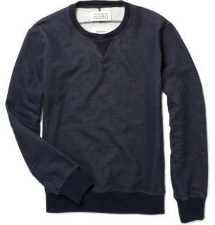 Maison Martin Margiela Cotton Sweater with Elbow Patches  MR PORTER