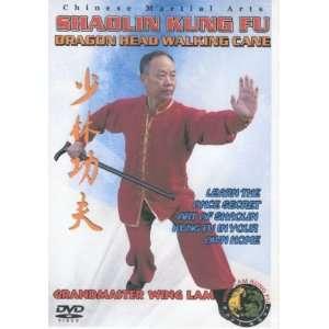 Shaolin Kung Fu Dragon Head Walking Cane: Wing Lam