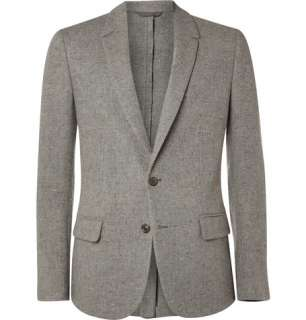 Clothing  Blazers  Single breasted  Hopsack Elbow