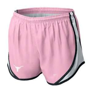 Texas Longhorns Vivid Pink Nike Dri Fit Womens College Tempo Shorts