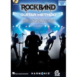 Rock Band Guitar Method (Book and CD) Musical Instruments