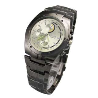 Hot Selling Stainless Steel Design Luxury New Mens Quartz Wrist Watch