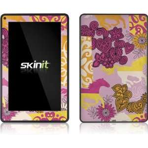 Hearts and Horses Vinyl Skin for  Kindle Fire Electronics