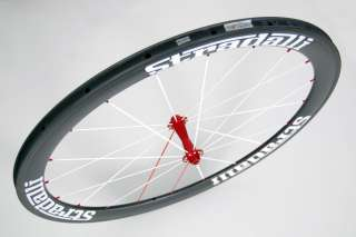 STRADALLI CARBON AERO ROAD BIKE BICYCLE WHEELS 50/85 mm