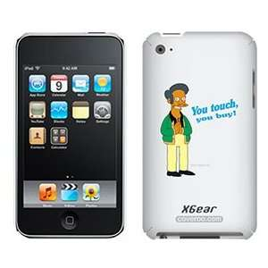 Apu from The Simpsons on iPod Touch 4G XGear Shell Case