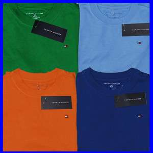 NWT BOYS AND GIRLS TOMMY HILFIGER CLASSIC S/S T SHIRT KIDS CHILDREN