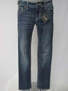 Miss Me JP6074T Straight Damen Jeans blau Gr.W28 NEU