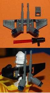 LEGO Star Wars Clone Trooper Jet Pack & Laser Waffe