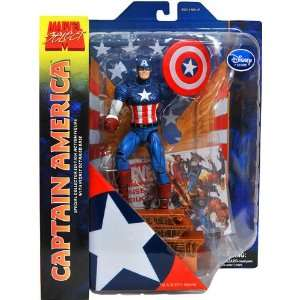 Marvel Select Exclusive Action Figure Captain America Toys & Games