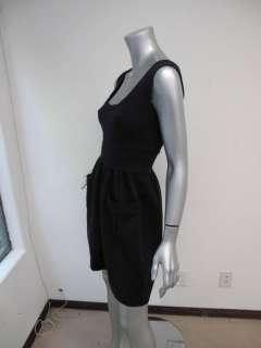 Diane Von Furstenberg Navy Blue Sleeveless Scoop Neck Pocket Dress 2