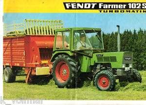 Fendt Farmer 102 S Turbomatik ( Prospekt )