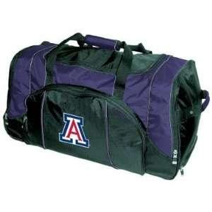 Arizona Wildcats Duffel Travel Bag   NCAA College